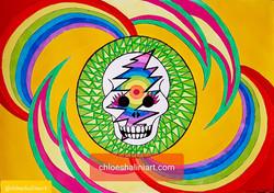 Deadhead Skull 2018
