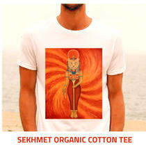 Sekhmet organic cotton tee,  many others available
