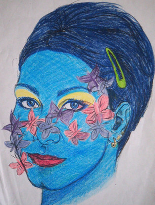 Self portrait 2 Chloe Shalini 1998.jpg