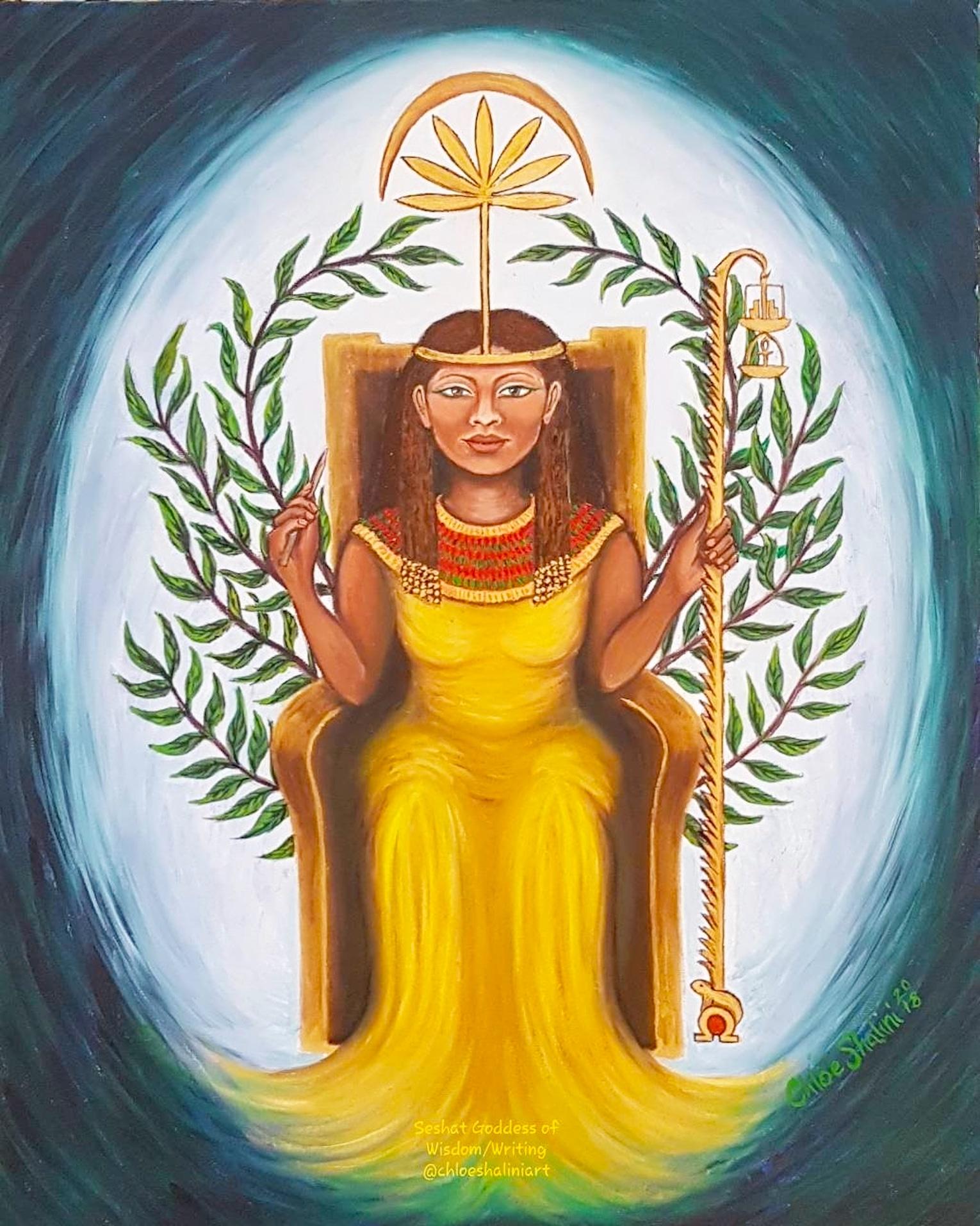 Goddess Seshat