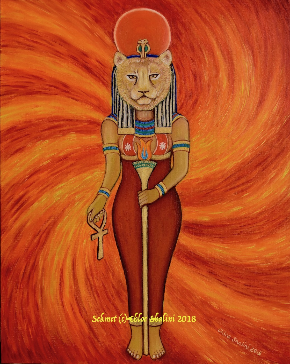 Sekhmet the Lioness