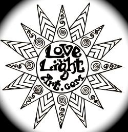 Love Light Art original logo 2012 CS