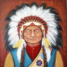 Thathanka Iyotake Sitting Bull commission