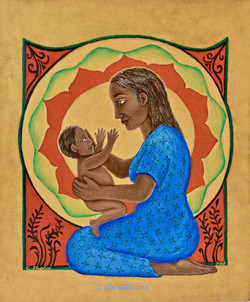 Mother & Child, Mother Mary & Jesus
