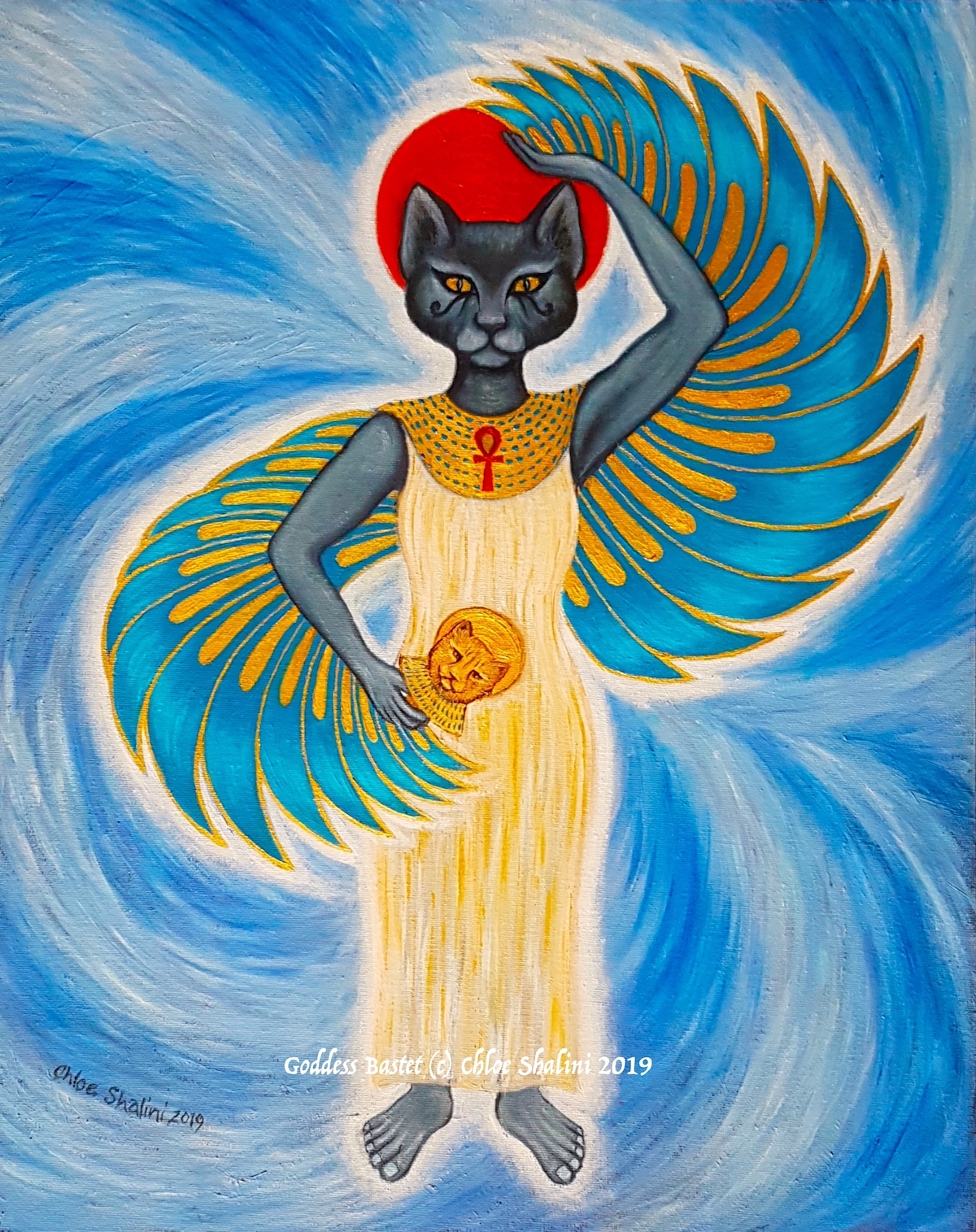 Cat Goddess Bastet/Bast