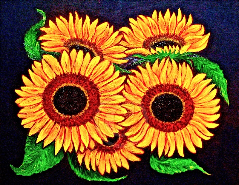 Sunflowers1commission Chloe Shalini