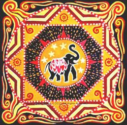 Elephant mandala comm Chloe Shalini