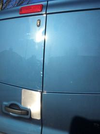 Renault Trafic Rear Door Protection