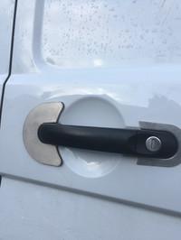 VW Transporter Anti-Drill Plates