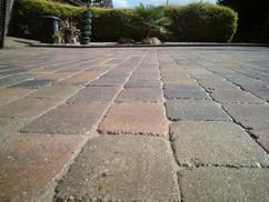 Block paving cleaned strathearn
