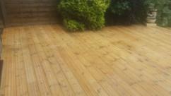 Deck pressure cleaned Strathearn