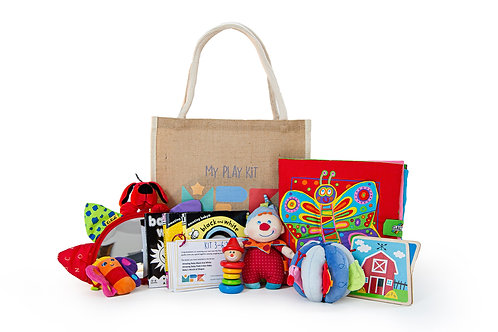 Play Kit for Ages 3-6 Months