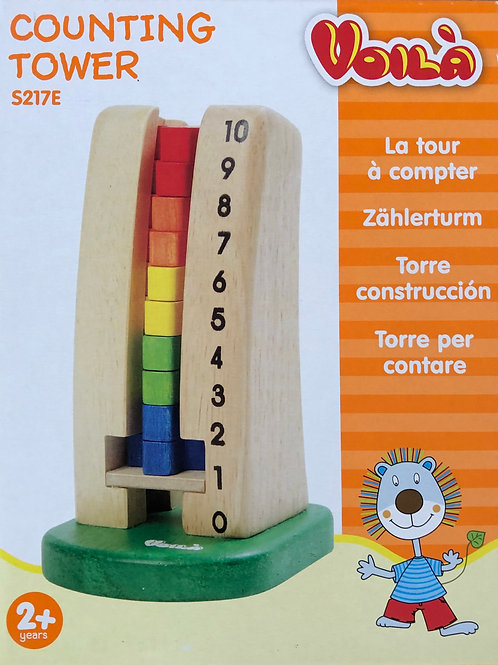 Counting Tower by Voilà
