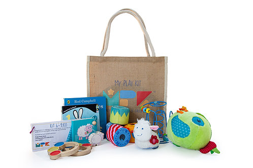 Play Kit for Ages 6-9 Months