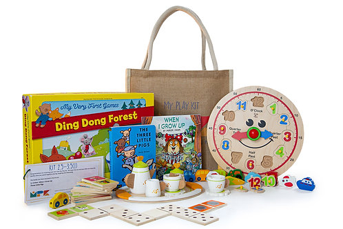 Play Kit for Ages 2.5 to 3 Years