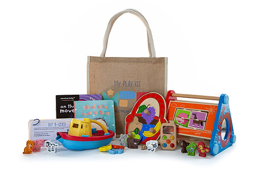 Play Kit for Ages 9-12 Months