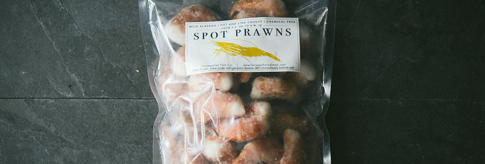 Male Spot Prawns - Shipment