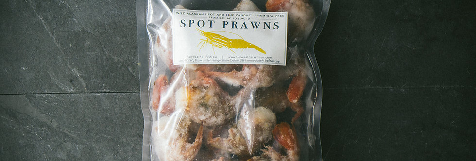 Female Spot Prawns - Local Delivery