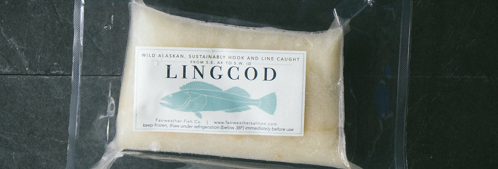 Lingcod Portions - Local Delivery