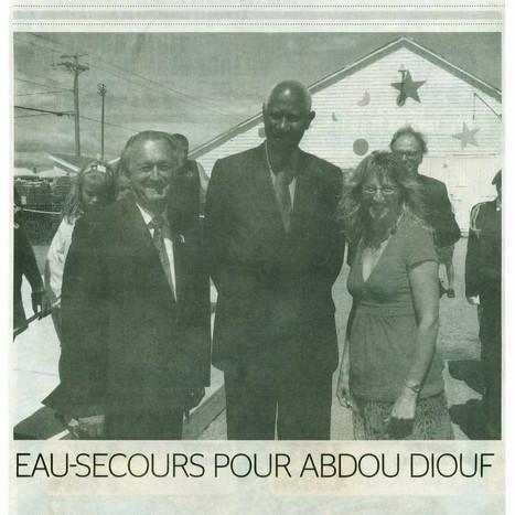 Eau-Secours pour Abdou Diouf