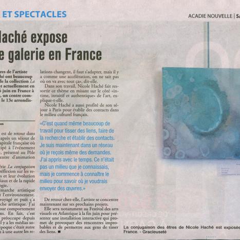 N.H. expose en France