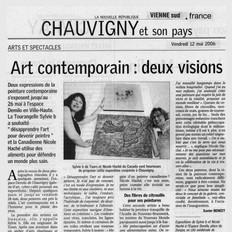 Art contemporain, Chauvigny, France 2006
