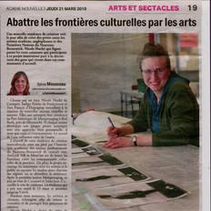 Abattre les frontières culturelles par les arts