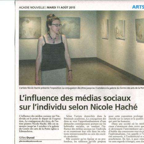 L'influence des médias sociaux