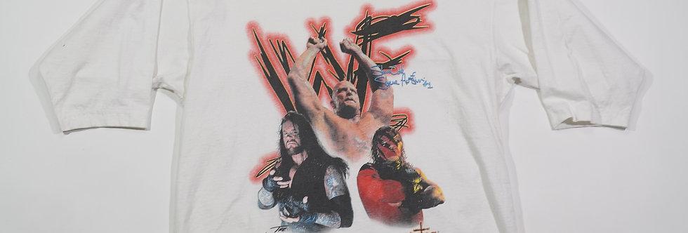 1998 3-Piece WWF Stone Cold, Taker, & Kane Tee