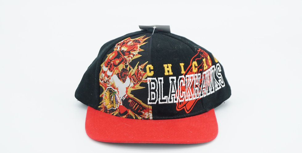 Chicago Blackhawks Full Front Embroidery DS Hat