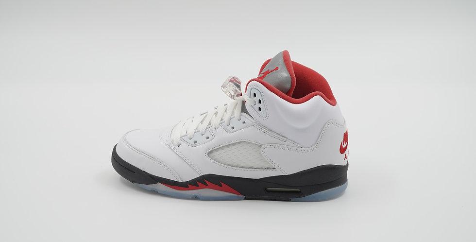 Jordan 5 Retro Fire Red Silver Tongue 2020
