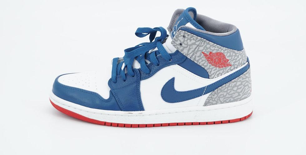 Jordan 1 Mid True Blue