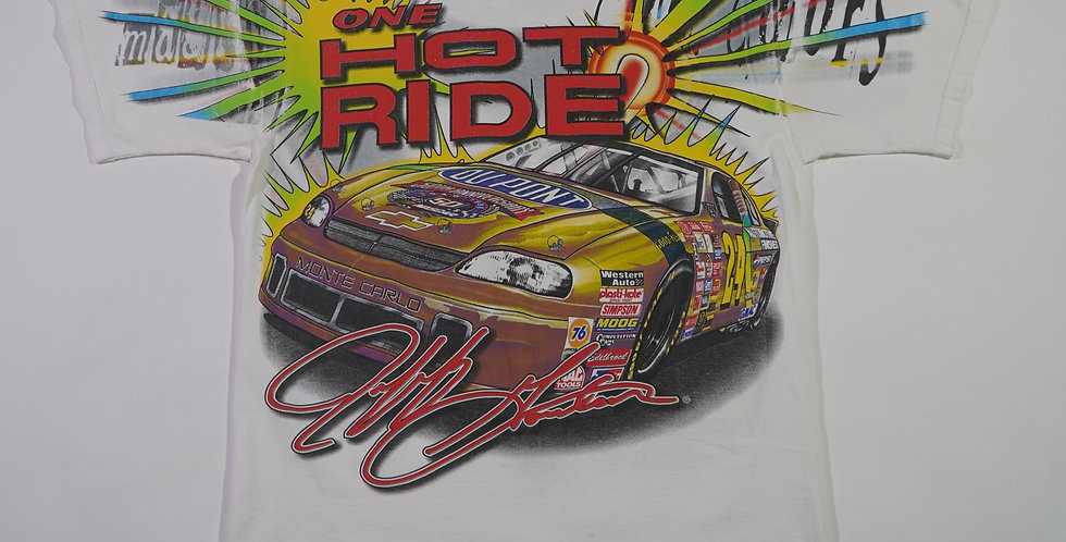 1998 Nascar One Hot Ride Tee