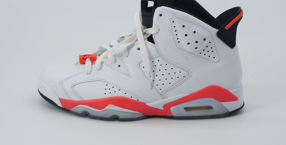 Jordan 6 Retro Infrared White