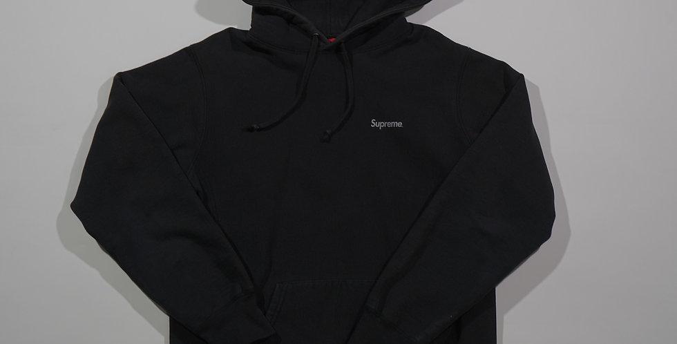 Supreme Black 3M Logo Hoodie