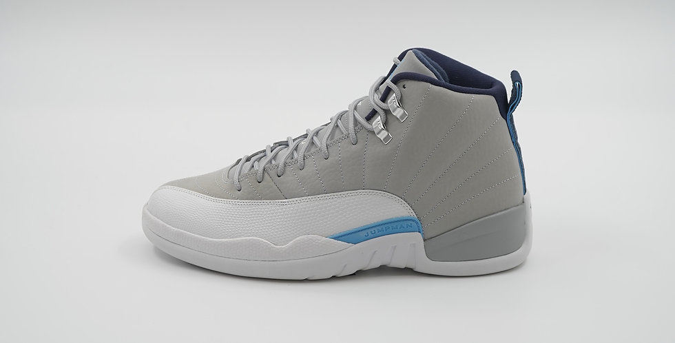 Jordan 12 Retro Grey University Blue