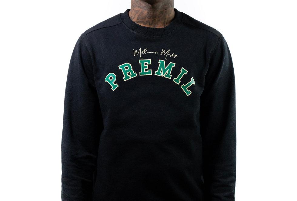 PreMil University Crewneck (Black)