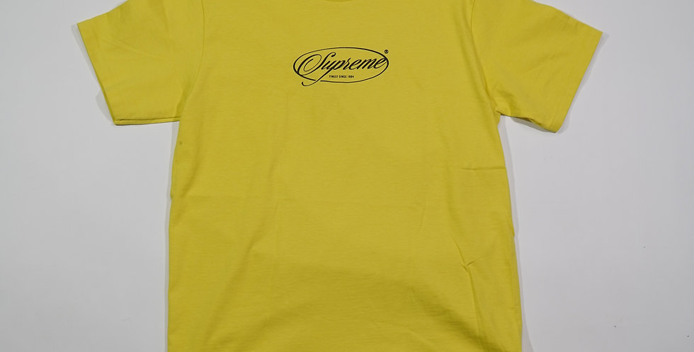 Supreme Logo Yellow T-Shirt 1994