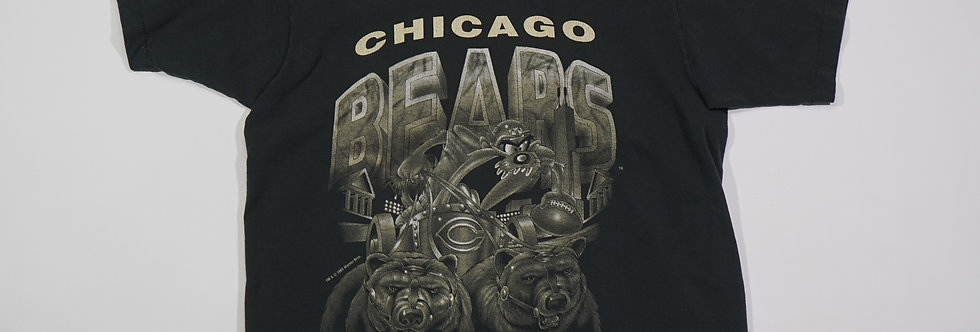 1993 Chicago Bears Chariot Taz Tee