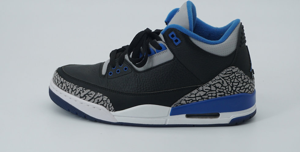 Jordan 3 Retro Sport Blue