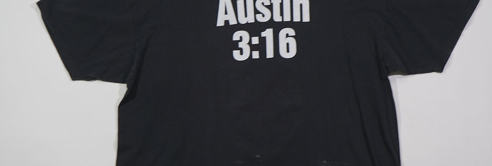 Austin 3:16 Smoking Skull Tee
