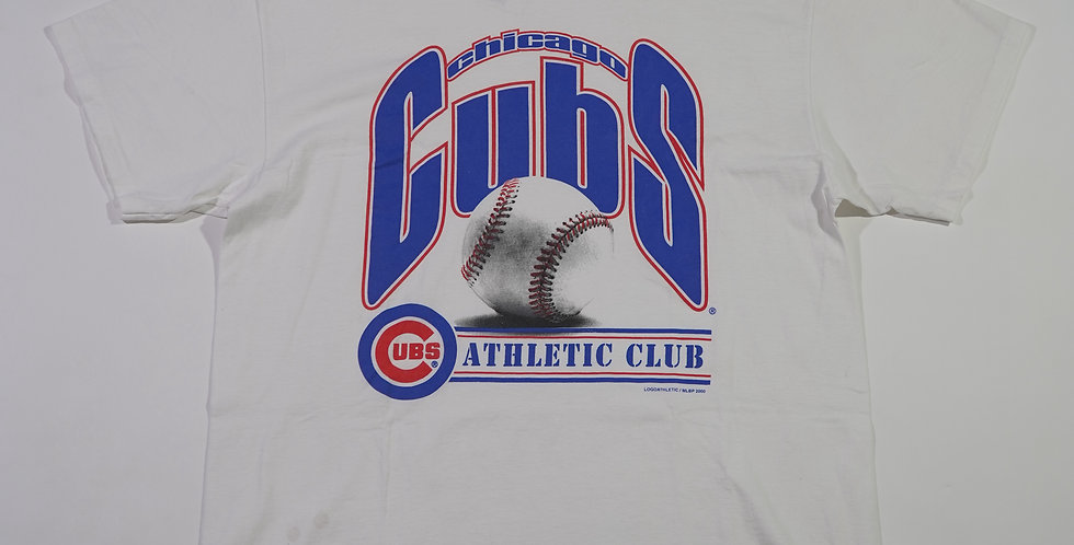 2000 Chicago Cubs Athletic Club Tee