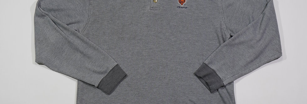 Chicago Bears Long Sleeve Polo