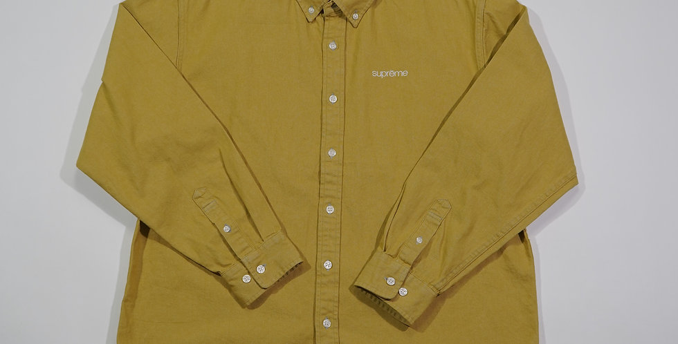 Supreme Mustard Button Up