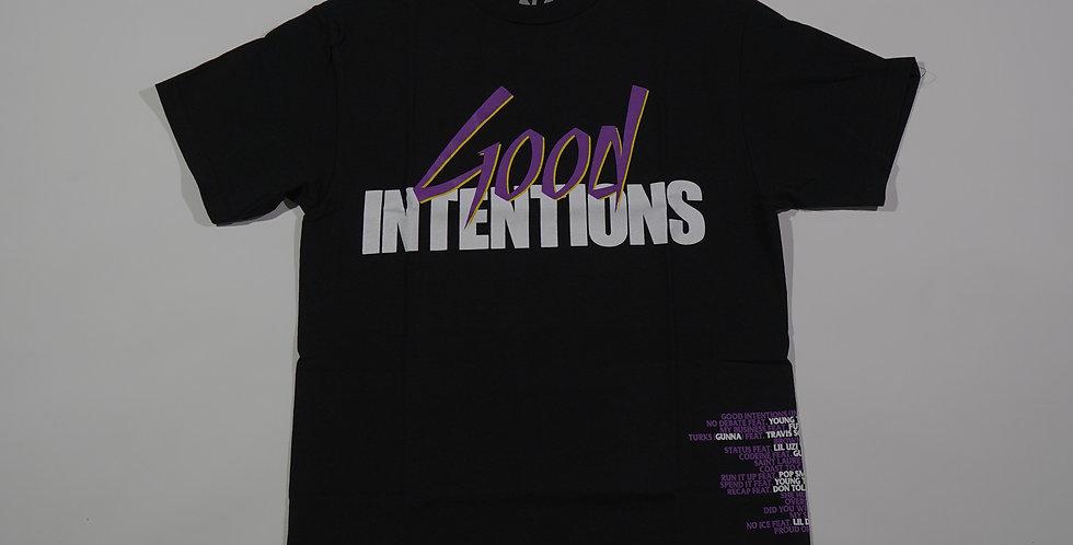 NAV x Vlone Good Intentions Black