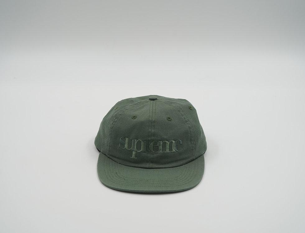 Supreme Olive Hat