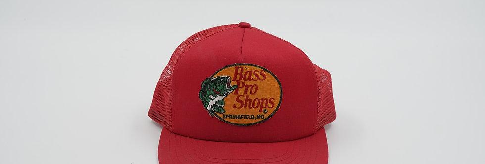 Bass Pro Shops Red Trucker Hat