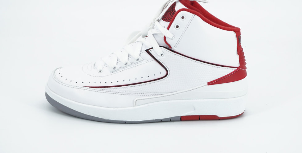 Jordan 2 Retro White Red 2014