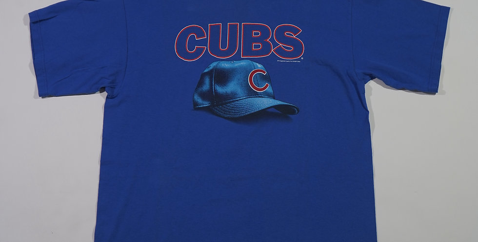 2003 Chicago Cubs Cap Print Tee