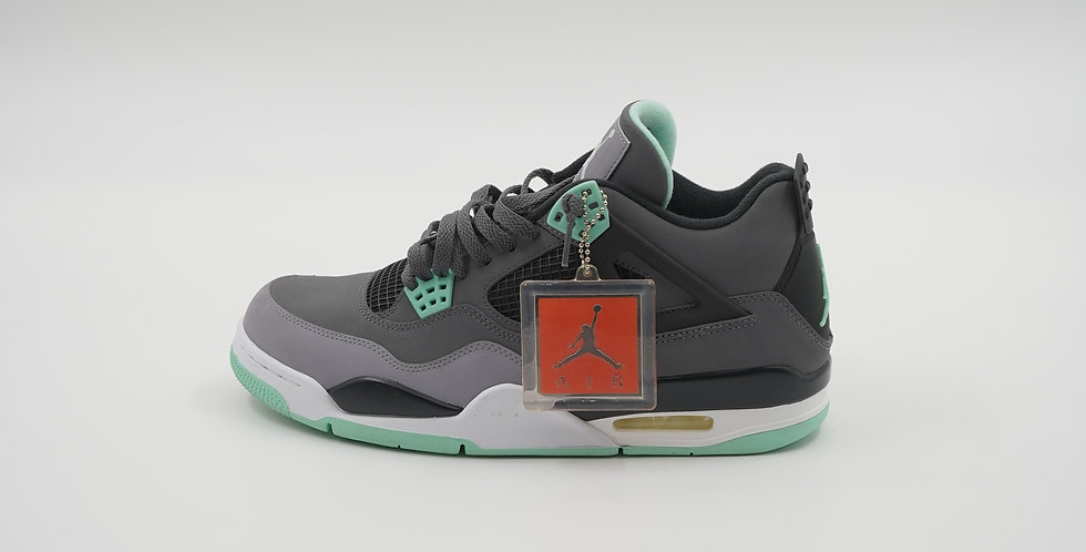 Jordan 4 Retro Green Glow